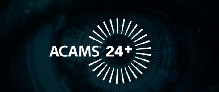 Gary presents at the ACAMS 24+ online financial crime marathon
